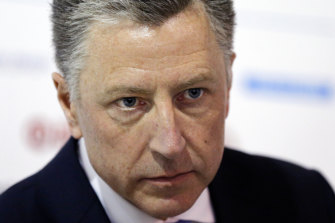 Former special envoy Kurt Volker is scheduled to give a deposition to State Department officials.