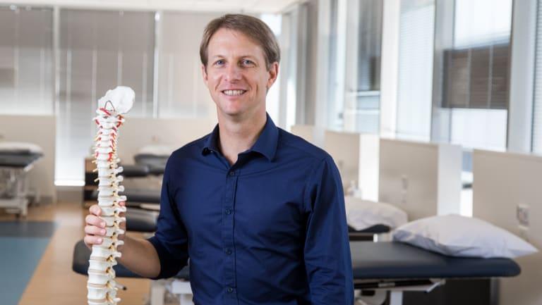 Macquarie University's Associate Professor Mark Hancock