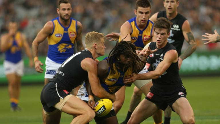 West Coast\'s only MCG engagement in 2018 was the tight win against Carlton.