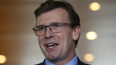 Population Minister Alan Tudge wants more migrants to move to regional areas.
