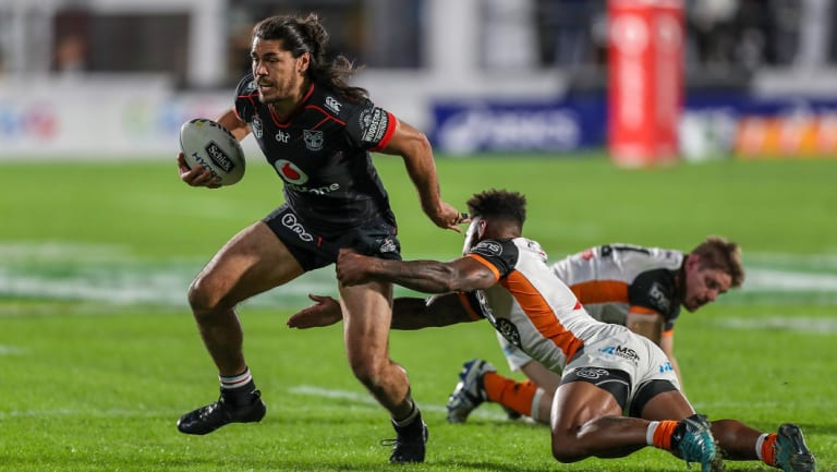 Looking solid: Tohu Harris has been one of the signings of the season.