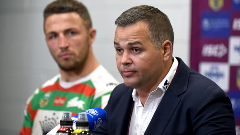 Lessons learned: Anthony Seibold didn't come out of the saga with his reputation enhanced.