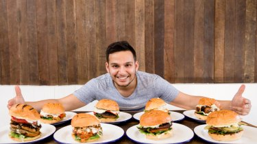 """I want Soul Burger to be the epitome of plant-based food in Australia"": Amit Tewari."