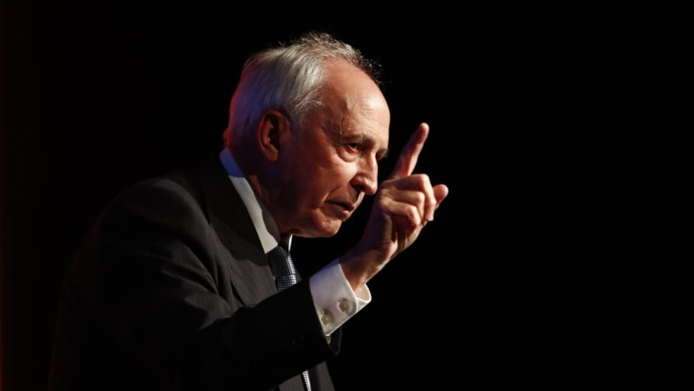 Former prime minister Paul Keating has been critical of the ABC for some time.