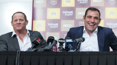 Calling time: Cameron Smith announces his retirement from representative football.
