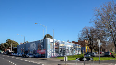The old Clipsal site at 81-89 Queens Parade, North Fitzroy