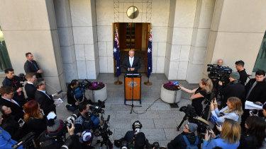 Prime Minister Scott Morrison calls the election on Thursday.