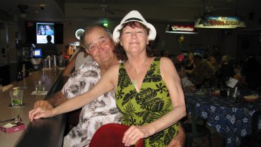 Pete and Sue Hensel married in December and were on their honeymoon in Queensland when they were killed in a helicopter crash.