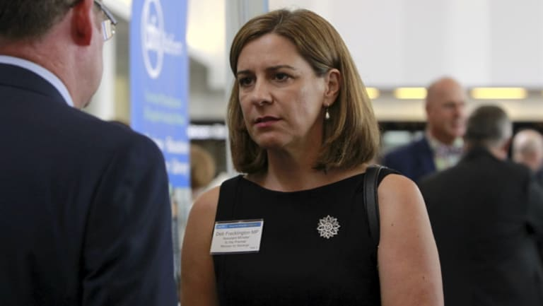 Opposition infrastructure spokeswoman Deb Frecklington.