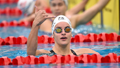 Australian teen star McKeown 0.06 seconds off world record in Olympic lead-up