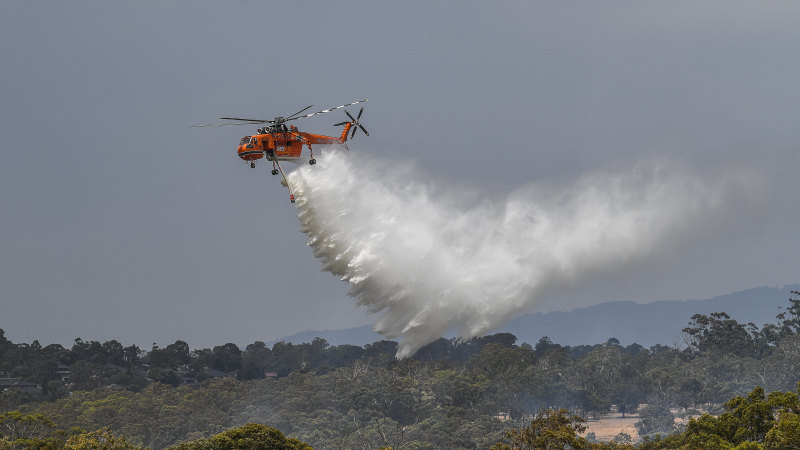 Evacuation order for towns near Myrtleford as out-of-control fire rages