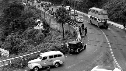 From the Archives: Tragic bus crash near Spit Bridge