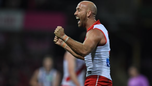 McVeigh to kick on with Swans in 2019