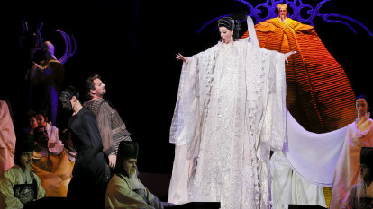 Tenor gets Turandot's big tune but sopranos soar in everything else
