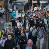 'Building blitz' brings winter of discontent for Melbourne commuters