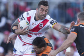 No Origin hangover for Vaughan as he refocuses with Dragons