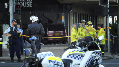 Car ploughs into Greenacre shop, 10 taken to hospital