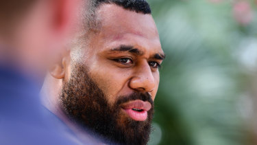 Samu Kerevi is the highest profile player to leave Australia for Japan recently.