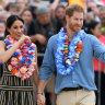 Harry and Meghan visit Queensland's Fraser Island on day seven of tour