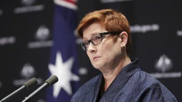 Marise Payne says Canberra rejects Beijing's suggestion that there would be a Chinese boycott of Australia.