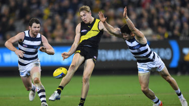 Tiger forward Tom Lynch will be able to pick up his training load after Richmond's bye.