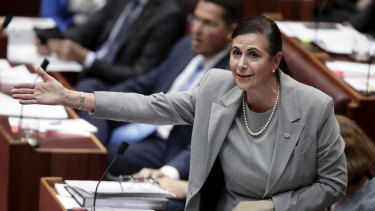 Minister for International Development and the Pacific Concetta Fierravanti-Wells has indicated Australia's foreign aid budget is at the mercy of opinion polls.