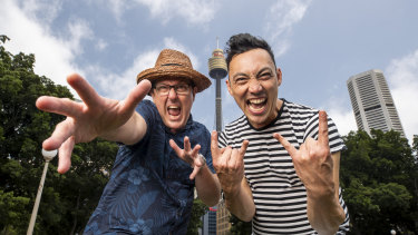 Dave McCormack from Custard and Quan Yeomans from Regurgitator are among countless musicians raising funds for bushfire relief.