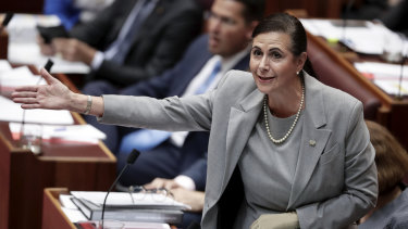 Concetta Fierravanti-Wells indicated foreign aid budget cuts have been driven by opinion polls.