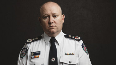 "NSW RFS commissioner Shane Fitzsimmons cancelled a planned Liberal Party appearance after learning of ""the nature of the event""."