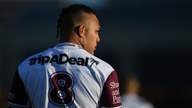 Addin Fonua-Blake has finished his first block of training with the New Zealand Warriors.