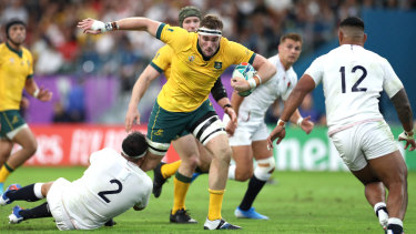 Au revoir: Izack Rodda, 23, has played 25 Tests but is off to France after a falling out with the Reds