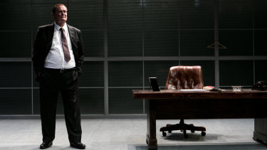John Howard in Packer & Sons at the Belvoir Theatre.