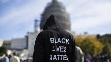 A Black Lives Matter protest.