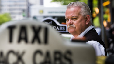 Taxi driver Rod Barton is part of the  class action against Uber.