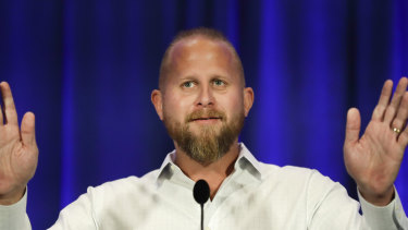 Demoted and later hospitalised: Brad Parscale former manager for President Donald Trump's 2020 campaign.