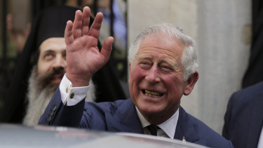Prince Charles has put up his hand to escort his daughter-in-law-to-be down the aisle.