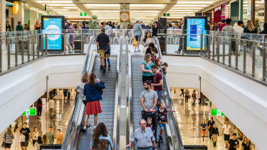 Indooroopilly Shopping Centre in Brisbane's south-west. (File Image)
