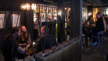 The Viking-inspired bar Mjolner.