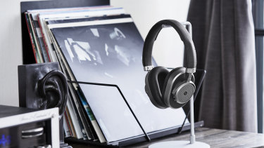 The MW65 offers noise cancelling and a metal-and-leather construction.