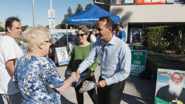 Liberal candidate Dave Sharma asked cyber terrorism experts to investigate the source of the emails.