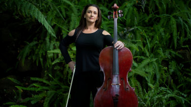 Cellist Michelle Wood will join her fellow musicians under the stars when the Melbourne Symphony Orchestra returns to the stage in 2021.