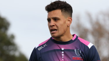 Melbourne Rebels back Matt Toomua can't wait to face the Waratahs.
