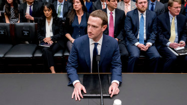 Facebook CEO Mark Zuckerberg preparing to testify before US Congress.