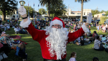 Santa will appear alongside Jimmy Giggle, Sesame Street and SplashDance.