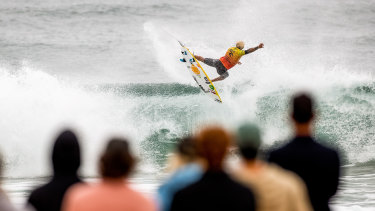 Italo Ferreira at the Narrabeen Classic last week.