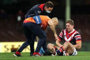 Mitch Aubusson hopes to return in three to four weeks.