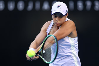 Australian world No.1 Ashleigh Barty.