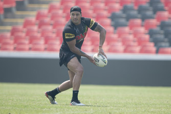Zane Tetevano is looking forward to taking a leading role at a Panthers side bursting with youthful potential.