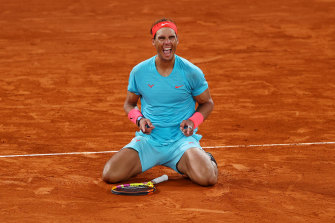 Victory at the French Open for Nadal. Again.