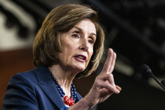 Critic of China's human rights abuses: US House Speaker Nancy Pelosi.